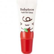 Блеск-тинт для губ It`s Skin Babyface Petit Tint Gloss Holika Holika, тон 01, яблоко: фото