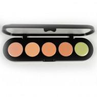 Палетка восковых корректоров, 5 цветов Make-Up Atelier Paris C/APC2 абрикосовая 10 гр: фото