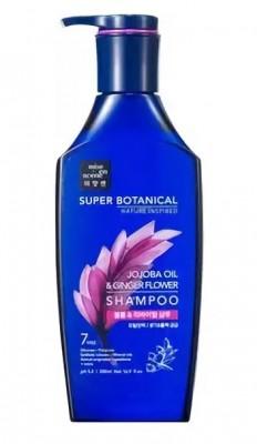 Восстанавливающий шампунь MISE EN SCENE Super Botanical Volume & Revital Shampoo: фото