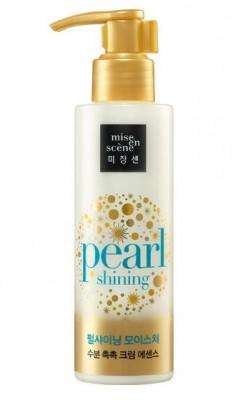 Эссенция увлажняющая с жемчужной пудрой MISE EN SCENE Pearl Smooth & Silky Moisture Hair Essence: фото