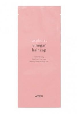 Маска для волос с малиновым уксусом A'PIEU Raspberry Vinegar Hair Cap: фото