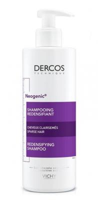 Шампунь для повышения густоты волос VICHY Dercos Neogenic 400мл: фото