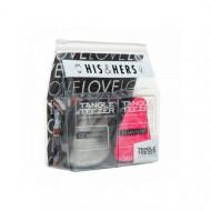 Набор расчесок для волос TANGLE TEEZER Compact Styler His&Hers: фото