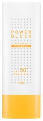 Солнцезащитный крем A'PIEU Power Block Sun Cream Pposong SPF50+/PA++++ 50мл: фото