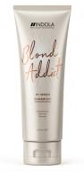 Шампунь для всех типов волос блонд Indola Blond Addict Shampoo 250мл: фото