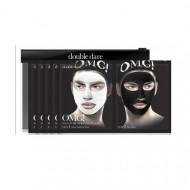 Двухкомпонентный комплекс мужских масок ДЕТОКС Double Dare OMG! Man In Black Facial Mask: фото