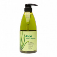 Гель для душа алоэ Welcos Kwailnara Aloe Body Cleanser 740гр: фото