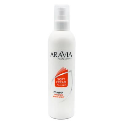 Сливки для восстановления рН кожи с маслом иланг-иланг Aravia Professional 300 мл: фото