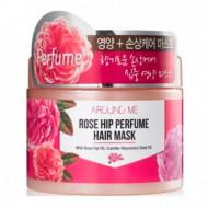 Маска для поврежденных волос Around me Rose Hip Perfume Hair Mask 300гр: фото