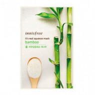 Маска для лица с бамбуком INNISFREE My Real Squeeze Mask Вamboo 20мл: фото