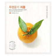 Маска для лица гидрогелевая NATURE REPUBLIC REAL NATURE GRAPEFRUIT HYDROGEL MASK 22г: фото