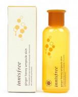 Тонер питательный с медом и имбирем Innisfree Ginger Honey Ampoule Skin 200мл: фото