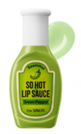 Горячий соус для губ THE SAEM Saemmul So Hot Lip Sauce 01 Green Pepper 9,5г: фото