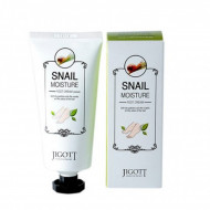 Увлажняющий крем для ног с улиточным муцином JIGOTT Snail Moisture Foot Cream: фото