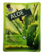 Маска тканевая с алоэ May Island Real Essence Aloe Mask Pack 25мл: фото