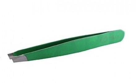 Пинцет для бровей Flario, зеленый: фото