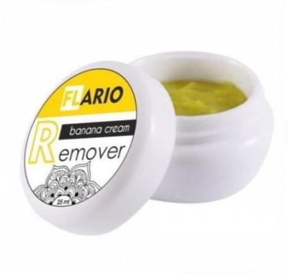 Ремувер кремовый Flario с ароматом Банана 15 мл: фото