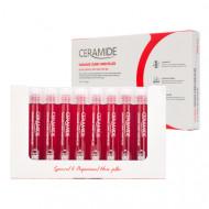 Филлер восстанавливающий для повреждённых волос с керамидами FarmStay Ceramide Damage Clinic Hair Filler 13мл*10: фото