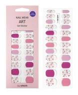 Наклейки для ногтей THE SAEM Nail Wear Art Gel Sticker 11 Lavender Flower: фото