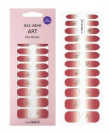 Наклейки для ногтей THE SAEM Nail Wear Art Gel Sticker 03 Rose Syrup: фото