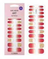 Наклейки для ногтей THE SAEM Nail Wear Art Gel Sticker 02 Cherry Ade: фото