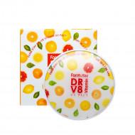 Пудра компактная с витаминами FARMSTAY DR-V8 vitamin UV pact SPF50 № 21 Beige 12мл*2: фото