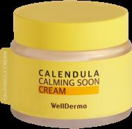Крем для лица КАЛЕНДУЛА WELLDERMA Calendula Calming Soon Cream 80 мл: фото